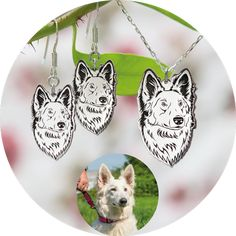 Drop Earrings, Jewelry, Silver Jewellery, Dogs, Jewlery, Bijoux, Schmuck, Drop Earring, Jewerly
