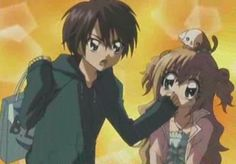Kilari ans hiroto Shugo Chara, Gabriel, Cute Anime Couples, I Love Anime, Anime Shows, Ghibli, Cute Pictures, Revolution, Fan Art