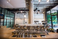 Verve Coffee Roasters Debuts Lush Espresso Bar in Downtown - Eater LA