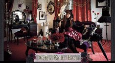 Romance an ancient Egyptian god in the newest bizarre dating sim     Pinterest Japanese fashion comes home  Interior design ideas for Lolita style living