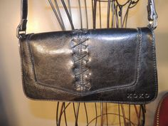 Vintage New York XOXO Black Leather Like by GodOdditiesDecor