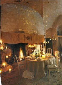 in castle :-)