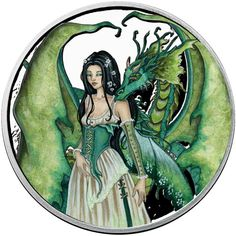 Lady Of The Forest 5 oz Silver Proof Capsuled Round W//COA Amy Brown Collection