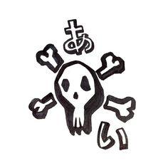# # #skull #love #愛 #あい #illustration #drawing #sketch #sketch_daily #イラスト #らくがき #外人 #art #artwork #graffiti by xiaoyu.jpg
