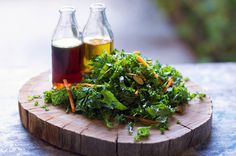 Kale n' Almond Salad