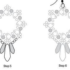 Heirloom Earrings Pattern for CzechMates | Fusion Beads