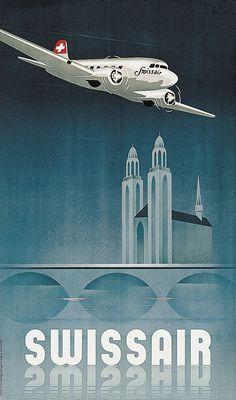 Swissair - 1948 - (Brunner Teddy) -