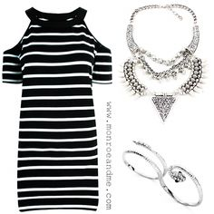 Stripes  #monochrome #ootd #silver #stripes #eviltwin #statementjewellery #accessories #jewellery #fashion #style #trend #monroeandme #dubai #abudhabi #uae #qatar #bahrain #lebanon #oman #saudiarabia #kuwait #jordan #egypt #cyprus #mydubai