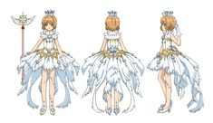 The Best (and Worst) Magical Costumes in Cardcaptor Sakura: Clear Card - Anime News Network Cardcaptor Sakura, Sakura Card Captor, Syaoran, Character Sheet, Character Design, Cosplay Sakura, Manga Anime, Manga Girl, Chibi