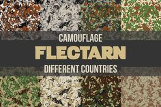 Flectarn Camouflage Set by Vitamin on @creativemarket