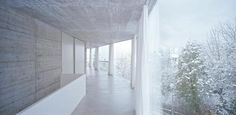 House with one wall : Christian Kerez