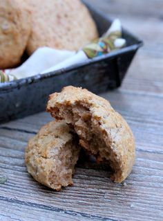 Cinnamon-Ginger Scones (grain-free, nut-free)