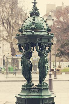 #Paris and the Wallace fontaine