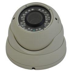 Avemia Night Vision Weather Proof Vari-Focal Dome Camera-Beige