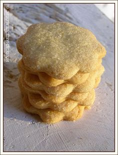 maślane ciasteczka z cukrem Baby Food Recipes, Sweet Recipes, Cookie Recipes, Polish Recipes, Holiday Desserts, Food Design, Sugar Cookies, Sweet Tooth, Sweet Treats