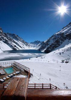 CHILE - Hotel Portillo - Skiing paradise!