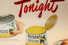 Vintage 3 Pack of Food Ads 1950s Foodie Ad Pack by JVoyage