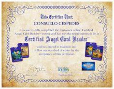 Certificada para dar Lecturas Angelicales   www.expandetusalas.com ❦ Expande tus Alas ❦