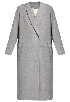 Samsøe & Samsøe POLO Wollmantel / klassischer Mantel grey melange Bekleidung bei Zalando.de | Material Oberstoff: 50% Wolle, 50% Polyester | Bekleidung jetzt versandkostenfrei bei Zalando.de bestellen!