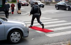 """Vincent Chevalier (Canada), """"The Red Carpet Treatment"""", Kuopio, Finland, 2009 