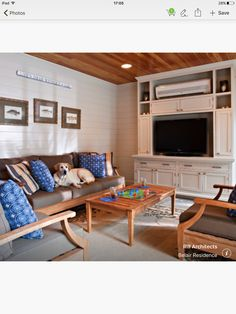 Built In Media Cabinet Design Ideas, Pictures, Remodel and Decor – Mein Stil Built In Furniture, Large Furniture, Ductless Heating And Cooling, Ductless Ac, Air Conditioner Cover, Tv Cabinet Design, Media Cabinet, Ideas Geniales, Built In Shelves