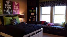 Bishop model spare bedroom.