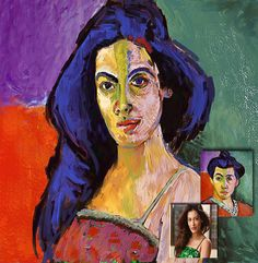 Matisse- looks a bit like the great Amy Winehouse?