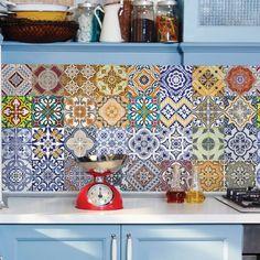 Papel de parede azulejo lisboa - PA8230