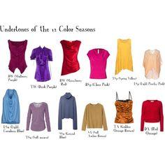 #seasonalcoloranalysis #coloranalysis  Created in the Polyvore iPad app. http://www.polyvore.com/iOS