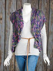 Clothes Knitting Downloads - Butterfly Flight Cardigan Knit Pattern