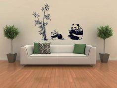 Panda eating bamboo amilal wall decals kids room decor nursery decoration wall stickers Christmas gift DongFan http://www.amazon.com/dp/B00FGJ9BUU/ref=cm_sw_r_pi_dp_89.lub07KPEQ5