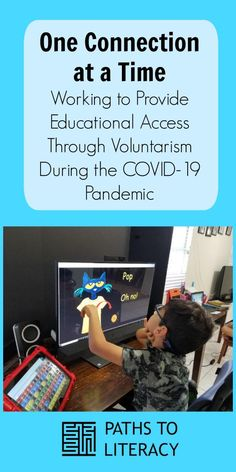 One connection at a time: working to provide educational access to children who are blind or visually impaired, including those with CVI (cortical visual impairment), through voluntarism during the pandemic Multiple Disabilities, Learning Disabilities, Name Activities, Educational Activities, Environmental Print, Volunteer Services, Folder Games, File Folder, Preschool Special Education