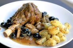 assiette Couscous, Lamb, Garlic, Olives, Food And Drink, Menu, Stuffed Peppers, Chicken, Cooking