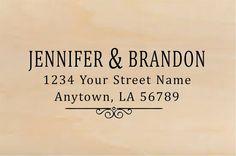 Personalized Self Inking Address Stamp - Return address stamp R297