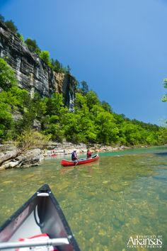 The Buffalo National River, America's first National River, is a popular Arkansas location for Buffalo River canoeing, fishing and camping. Plan your trip today! Places To Travel, Places To See, Federal Parks, Arkansas Vacations, Float Trip, River I, Canoe Trip, Rafting, The Great Outdoors