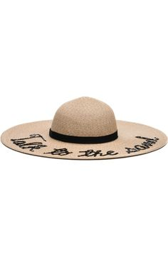 Free shipping and returns on Phase 3 Wordplay Floppy Straw Hat at  Nordstrom.com. f1ca4618f885