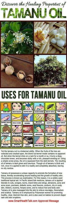 Tamanu Oil Uses – Health Benefits