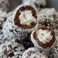 Snowball Truffles   Organic Recipe Book