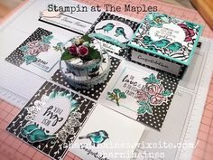 Exploding Box Tutorial | About | South Australia | Stampin' at The Maples