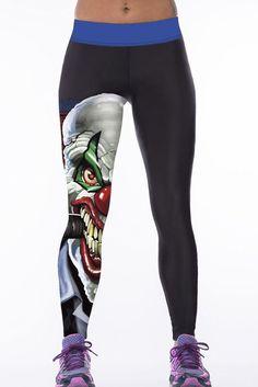Leggings 3D Print Taille Haute Femmes Sport Yoga Pants – Modebuy.com