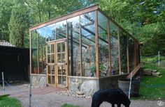 Tips on Planning as well as Building Your Home Greenhouse – Greenhouse Design Ideas Build A Greenhouse, Greenhouse Wedding, Greenhouse Gardening, Greenhouse Ideas, Wooden Greenhouses, Backyard Sheds, Back Gardens, Hydroponics, Garden Inspiration