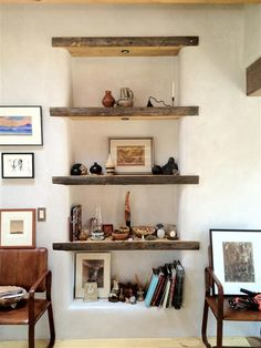 Pallets Old Awesome solid timber bookshelves! House Design, Interior, Home, Building A House, Home Remodeling, Cob House, House Inspiration, House Interior, Eco House