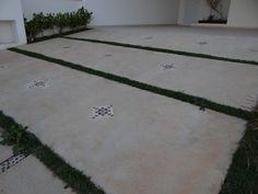 calçada cimento branco - Pesquisa Google
