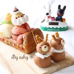 プレゼントを積んで さぁ出発だぁ!  …なちぎりパン( ´͈ ᵕ `͈ )