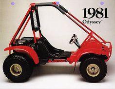 1981 Honda Odyssey.  Photo Courtesy of Vintage Factory ATC Racer