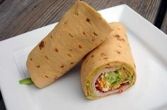 Healthy Diabetic Recipe for Turkey Guacamole Wrap