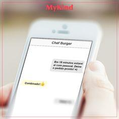 Quem usa o MyKind pode enviar uma mensagem ao seu food truck favorito e evitar filas. Isso sim é exclusividade! É só chegar e aproveitar o seu pedido pronto. =)