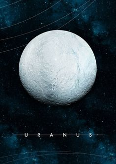 Uranus by Alexander Pohl Cosmos, Space Planets, Space And Astronomy, Planets Wallpaper, Galaxy Wallpaper, Constellations, Home Bild, Uranus, Eclipse Solar
