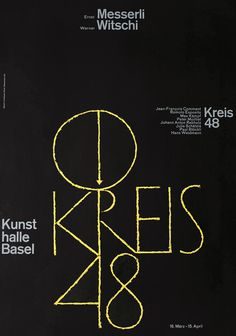 Kreis 48 by Hofmann, Armin | Vintage Posters at International Poster Gallery