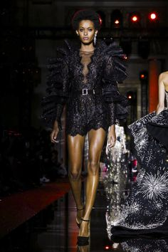 Designers are finding favour with the Eighties right now. Interesting. It's when gowns were really gowns – when they swooped this way and that and looked like a stylistic reinvention of...